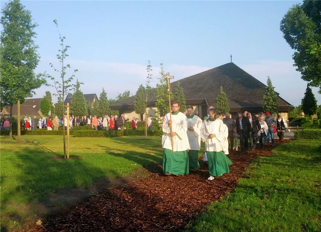 Waldfriedhof in Glandorf eingesegnet