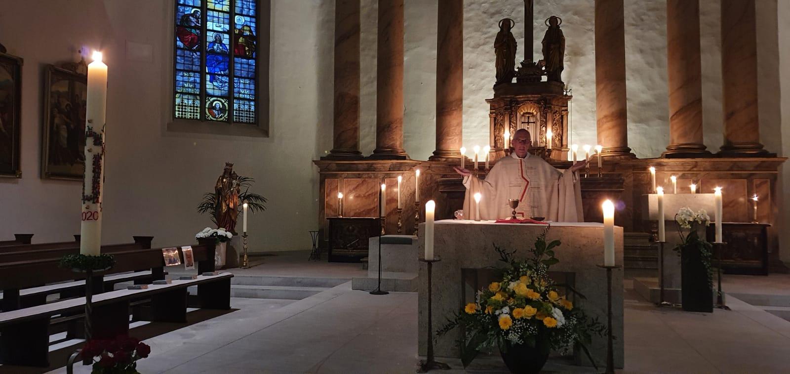 Gottesdienste von Gründonnerstag bis Ostermontag