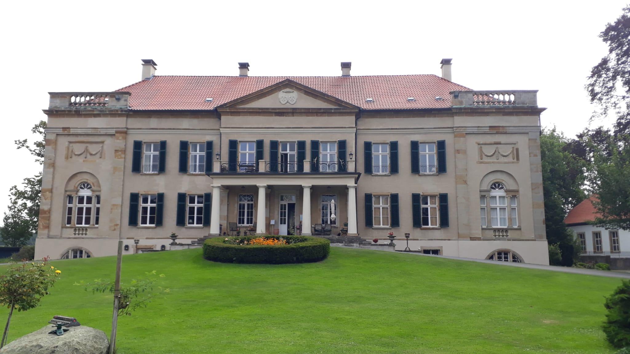 Besichtigung von Schloss Harkotten