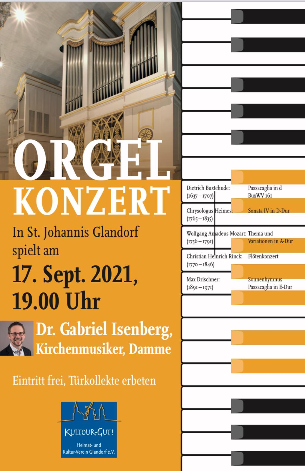 4. Orgelkonzert zur Nachwuchsförderung