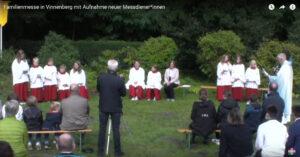 Open-Air-Gottesdienst in Vinnenberg